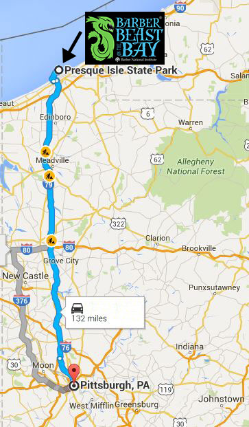 Map to Pittsburgh OCR