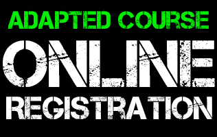 Adapted Course Online Registration