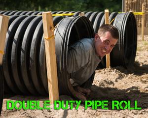 Double Duty Pipe Roll