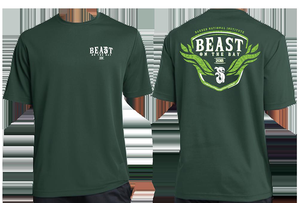 2018 Participant Shirt Design