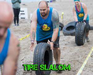 Tire Slalom