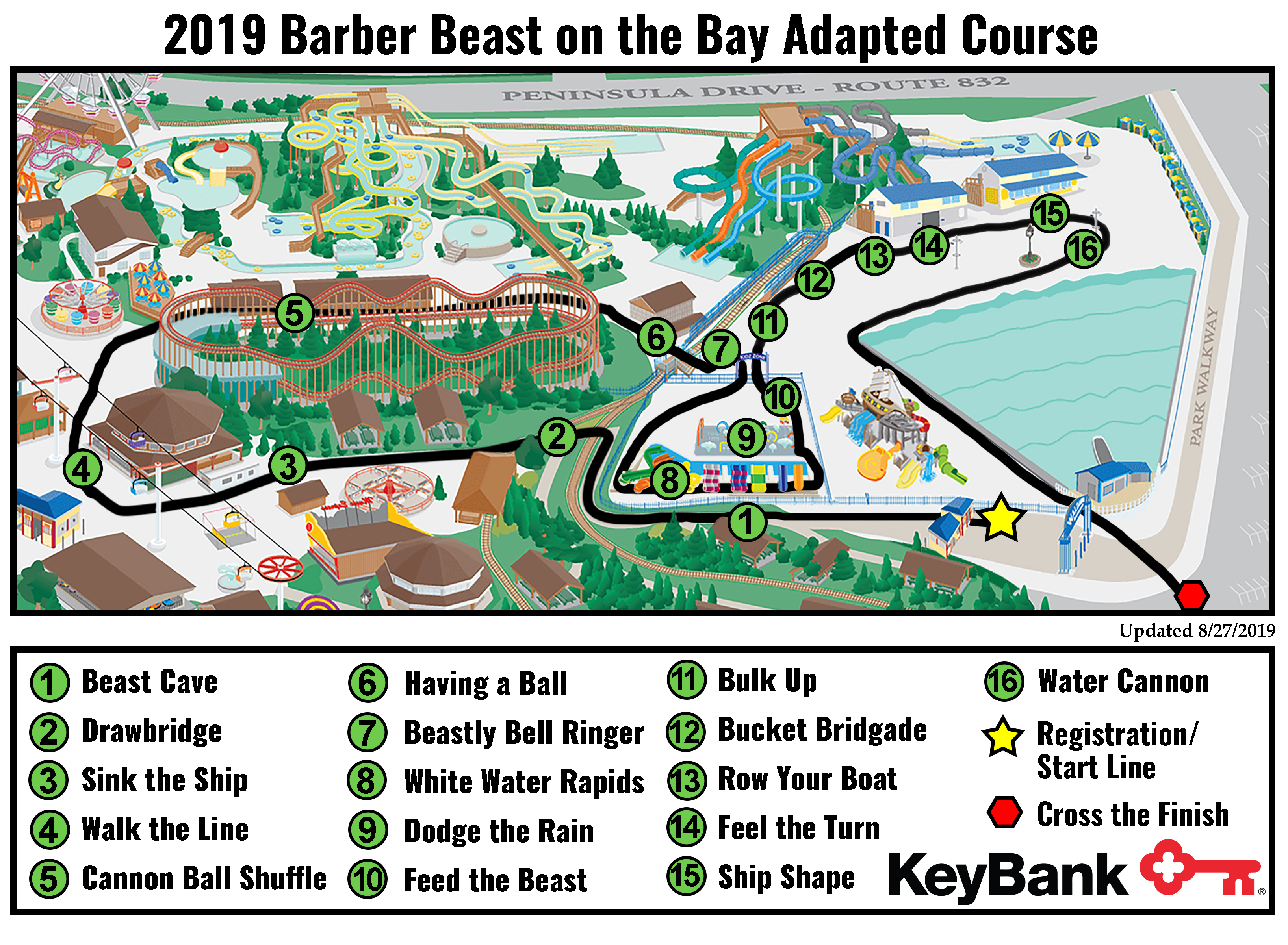 Adapted Course Map