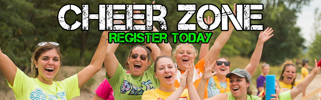 Register for a Cheer Zone