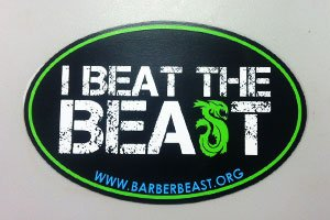 Beast on the Bay Car Magnet