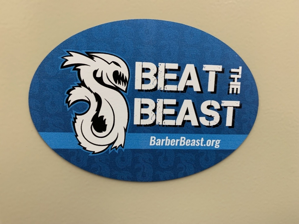 Beat the Beast Car Magnet