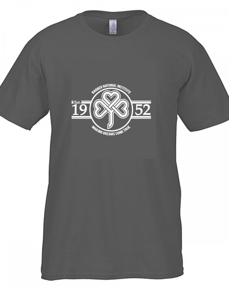 Barber National Institute Heather Grey T-Shirt