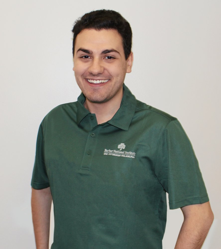 Barber National Institute Forest Green Polo - Men's