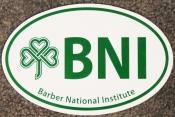 Barber National Institute Car Magnet
